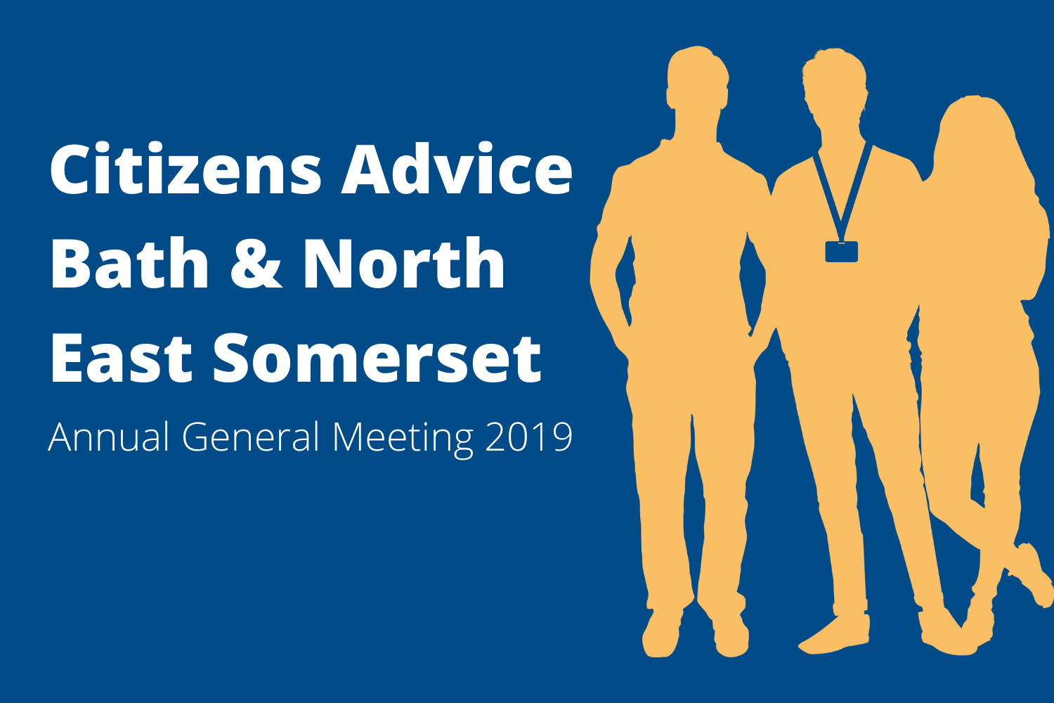 Citizens Advice Annual General Meeting 2019 Banner