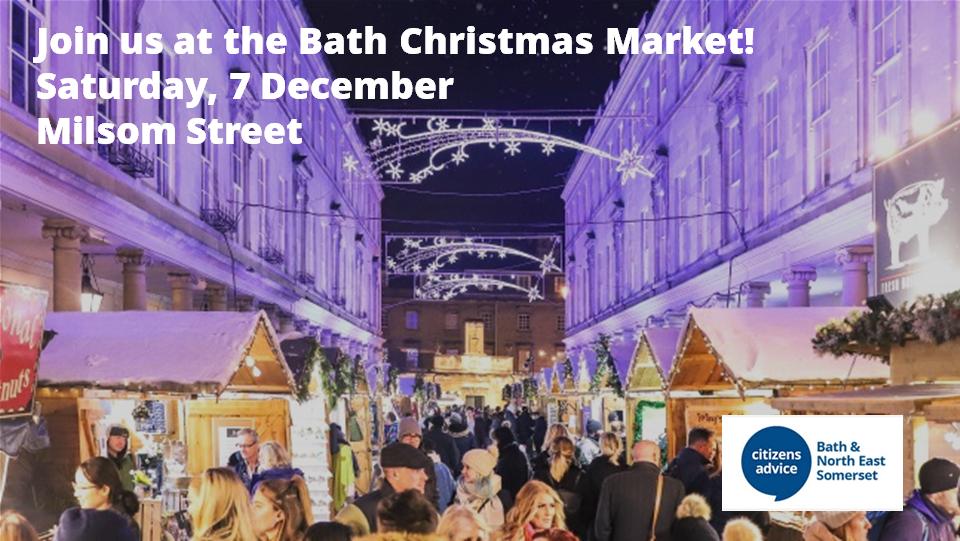 Bath Christmas Market 2019 promotional image