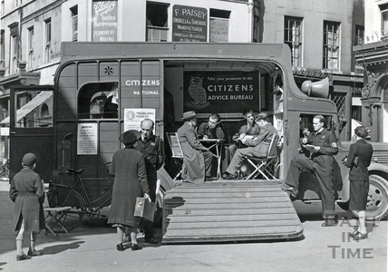 Citizens Advice in Bath in 1939