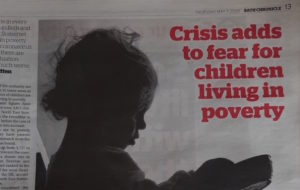Children are at greater risk of the impacts of poverty.