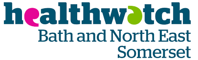 We are being supported by Healthwatch BathNES
